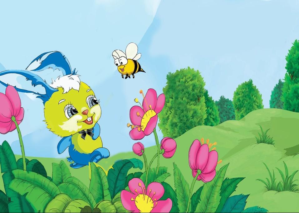 Thỏ Burine và Ong Vàng dũng cảm